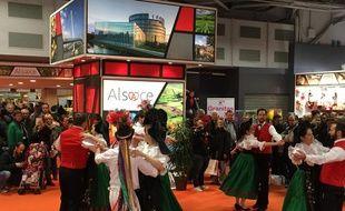 Danse folklorique au Salon de l'agriculture 2015.