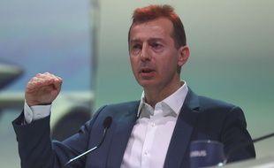 Guillaume Faury, le nouveau grand patron du groupe Airbus.