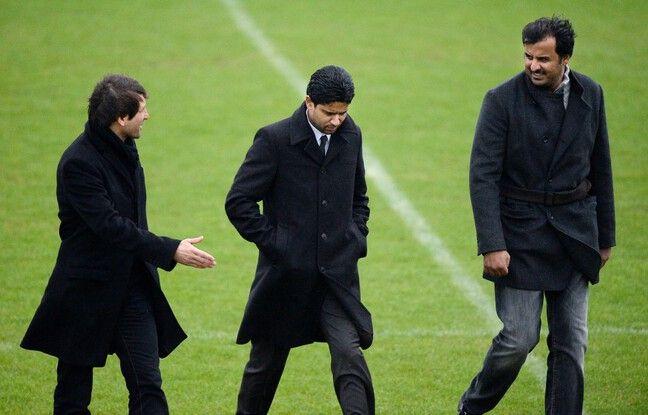 Leonardo, Nasser Al-Khelaïfi et l'émir du Qatar, le trio qui tient l'avenir de Tuchel entre ses mains.