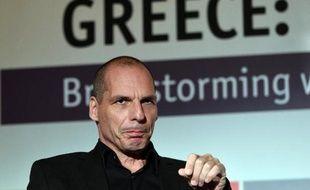 Le ministre grec des Finances, Yanis Varoufakis, le 14 mai 2015 à Athènes