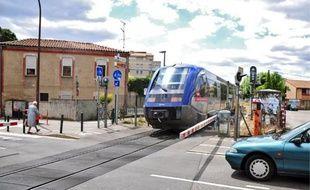 Ce passage à niveau situé aux Arènes a été le théâtre de trois collisions en cinq ans.