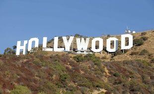 Le mythique «Hollywood sign » en 2012