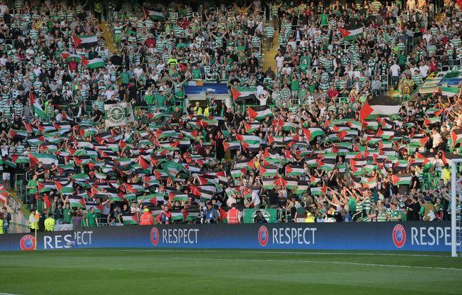 Les supporters de la Green Brigade