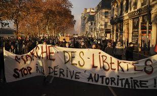 Loi «sécurité globale»: 52.350 manifestants en France dont 5.000 à Paris, selon le ministère de l'Intérieur