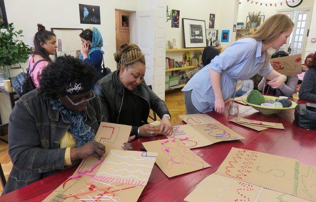 Les femmes peuvent se retrouver chaque jour au sein du centre Melissa pour une série d'activités et de cours.