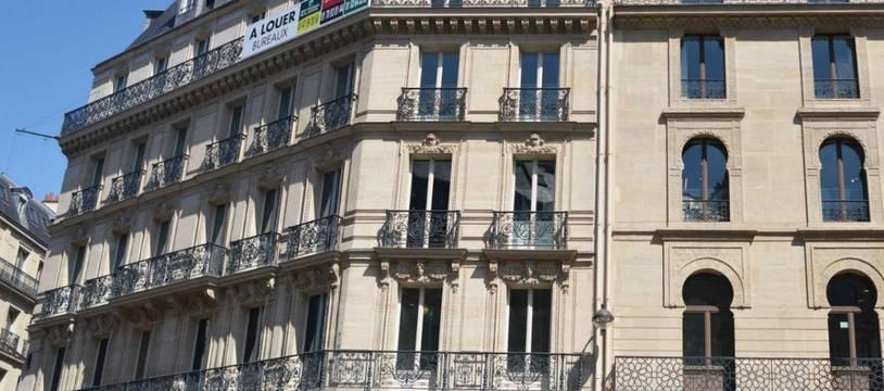 Façade d'un appartement parisien (illustration)
