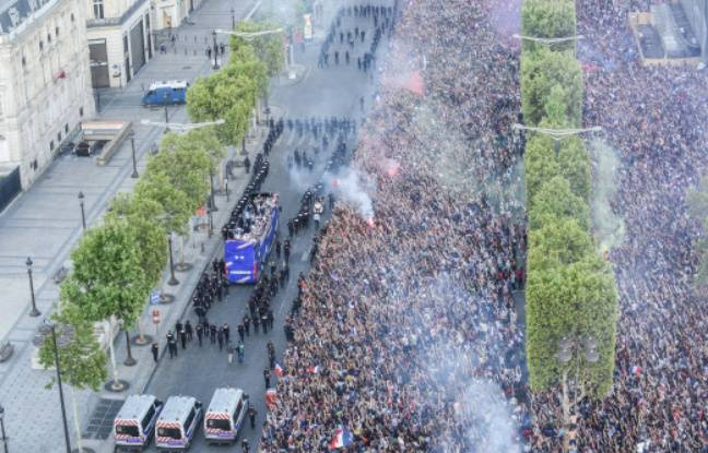 «Il faut y aller, le président nous attend», Antoine Griezmann raconte pourquoi la descente des Champs a été «mal gérée»