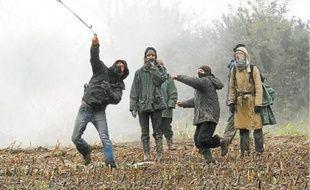 Mardi matin, de nouveaux heurts entre les forces de l'ordre et opposants au projet ont éclaté au lieu-dit «La Gaîté».