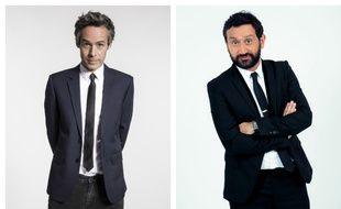 Yann Barthès et Cyril Hanouna animent respectivement «Quotidien» sur TMC et «Touche pas à mon poste !» sur C8.