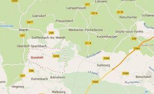 Un homme est mort écrasé sous son tracteur à Gunstett, le 19 novembre 2014.