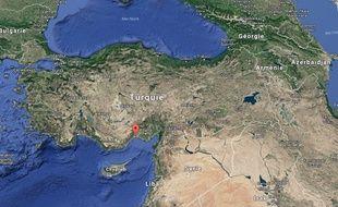 Mersin, en Turquie.