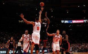 Au Madison Square Garden de New York, le Heat de miami a dominé les Knicks (87-70) pour s'envoler dans la série (3-0) des play-offs NBA