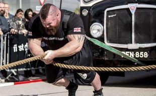 Eddie Hall, le troisième homme le plus fort de la Terre.