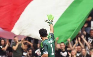 Gigi Buffon joue son tout dernier match avec la Juve.