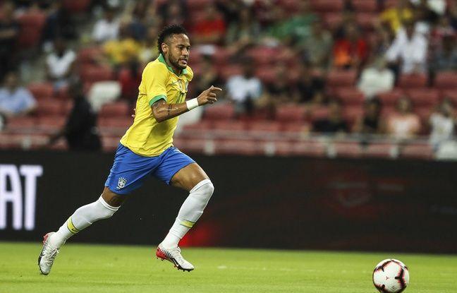 VIDEO. PSG; Neymar sort blessé avec le Brésil, ça faisait longtemps