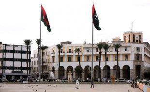 La place des Martyrs à Tripoli, le 20 octobre 2015