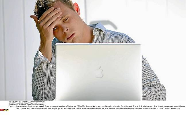 En cas de burn-out ou bore-out, l'individu n'arrive souvent plus à faire son travail.