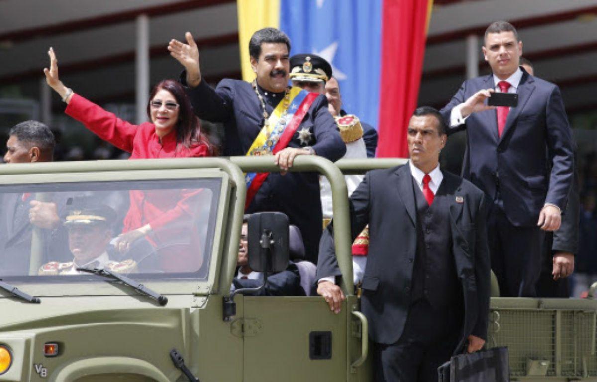 Le président du Venezuela Nicolas Maduro –  Ariana Cubillos/AP/SIPA
