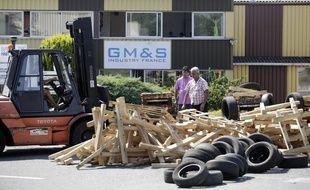 Le site GM&S Industry est bloqué depuis dix jours par les salariés, après une première occupation de deux semaines en mai