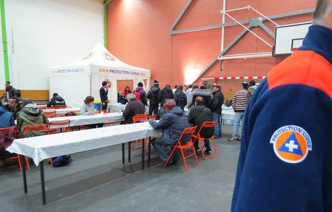 Le gymnase Emile-Morice a été ouvert exceptionnellement pendant la période de grand froid.