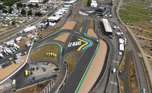 Privé de son public, le circuit du Mans, dit aussi « circuit de la Sarthe », n'accueillera que 8.500 personnes, contre 250.000 en temps normal lors des 24 Heures du Mans.