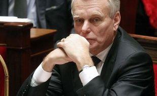 Jean-Marc Ayrault à l'Assemblée nationale, le 24 octobre 2012.