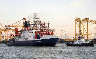 Le brise glace Polarstern est de retour en Allemagne après avoir menée la plus longue expédition en Antarctique