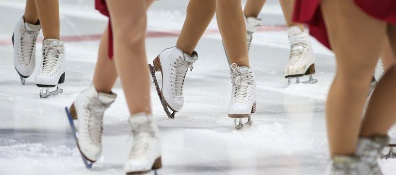 Une compétition de patinage, le 1er février 2020 à Rouen (photo d'illustration).
