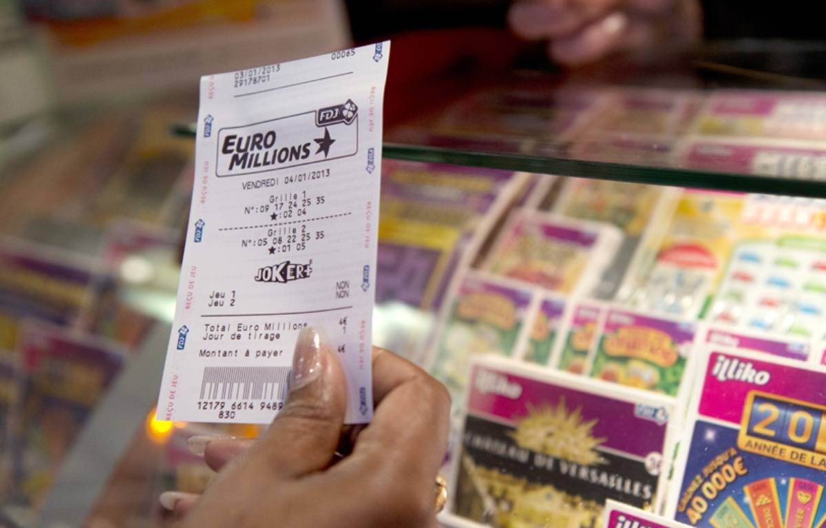 Ticket Euro Millions, illustration.  – MIGUEL MEDINA / AFP