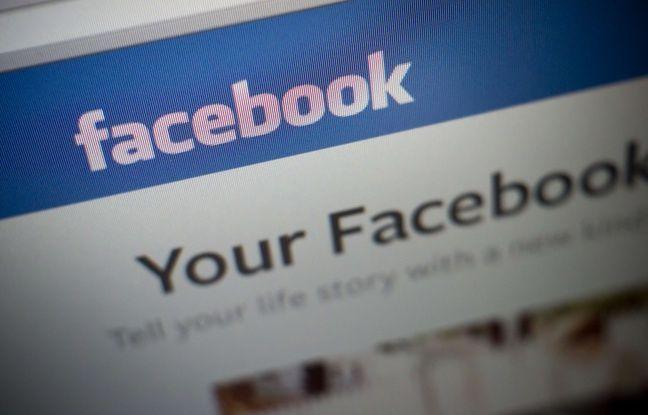 La page d'accueil du réseau social Facebook.