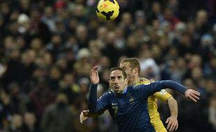 Franck Ribéry contre l'Ukraine, le 19 novembre 2013, au Stade de France.