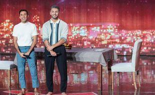 Alex et Alex (Alex Francoeur et Alexandre Carlos), candidats de La France a un incroyable talent.