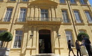 Aix-en-Provence,  L'Hotel Caumont.