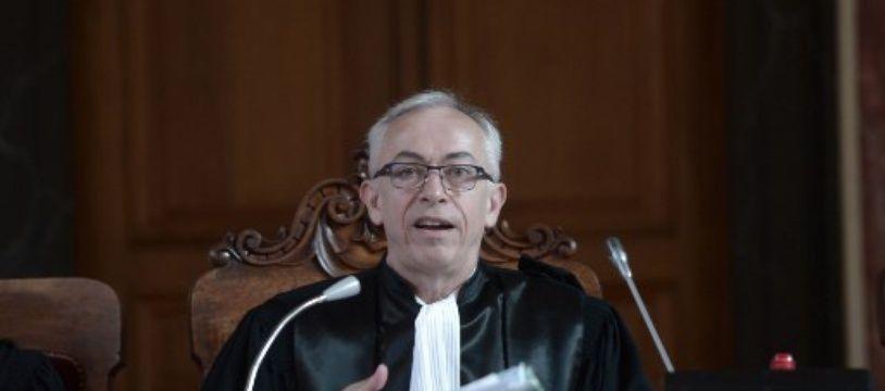 Marc Jean-Talon, président du tribunal dans le procès de l'abattoir de Pau.