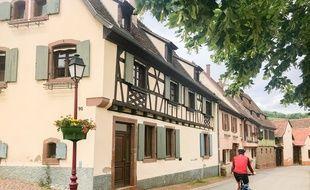 De jolis villages alsaciens vous attendent sur cette boucle dans le vignoble de la Couronne d'Or.