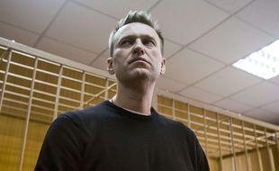 Alexeï Navalny lors de son procès à Moscou, le 27 mars 2017.