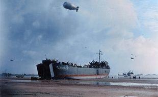 Le débarquement sur les plages de Normandie, le 6 juin 1944.