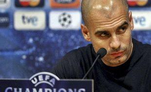 L'entraîneur de Barcelone, Pep Guardiola, le 7 décembre 2010, au Camp Nou.