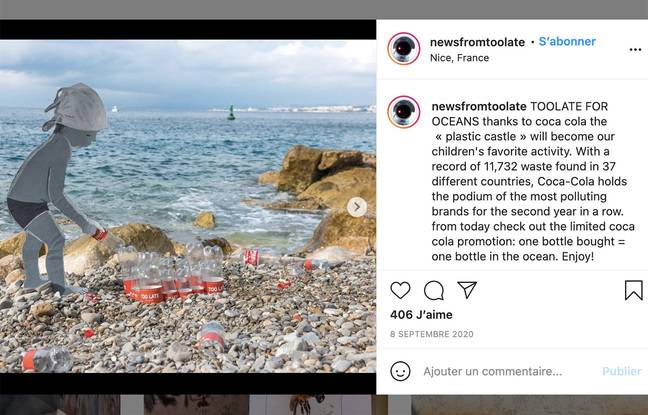 Le château de plastique, selon TooLate