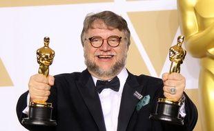 Le réalisateur Guillermo del Toro aux Oscars 2018