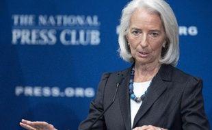 La directrice générale du Fonds monétaire international (FMI), Christine Lagarde a prévenu mercredi que les pays industrialisés présentaient des risques de déflation.