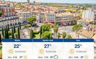 Météo Montpellier: Prévisions du jeudi 5 août 2021
