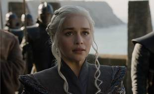 Daenerys Targaryen (Emilia Clarke) dans la saison 7 de Game of Thrones