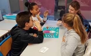 Les élèves de 6e du collège privé Saint-Barthélémy, à Nice, ont pu tester le jeu