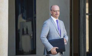 Jean-Michel Blanquer, le ministre de l'Education, le 3 août 2018 à l'Elysée.