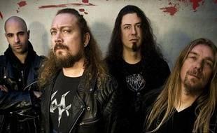 Le groupe de Heavy métal, Loudblast, prévu au Hellfest le 18 juin 2010.