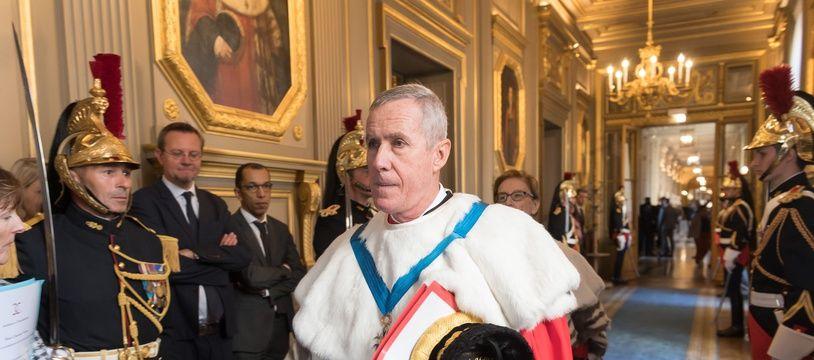 François Molins, procureur général près la Cour de cassation. (archives)