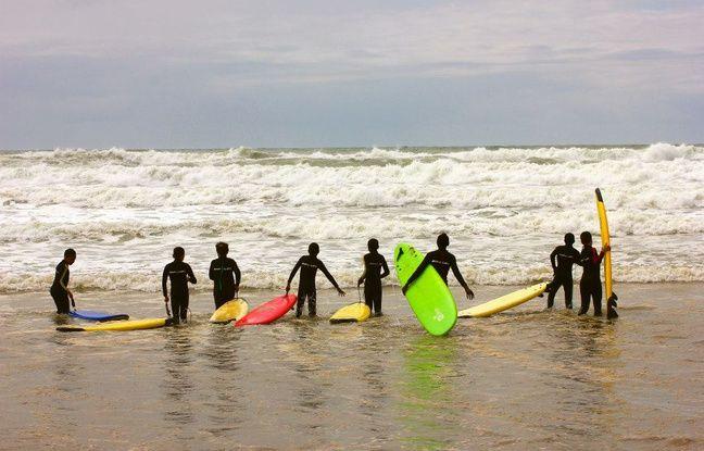 Des sessions à la mer ont aussi été organisées pour faire découvrir les sports nautiques aux enfants.