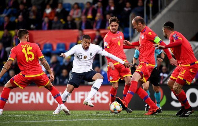 Andorre-France: 100e but en pro et «capuchegate»... La drôle de soirée de Kylian Mbappé