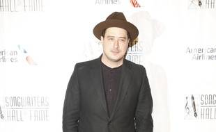 Le chanteur Marcus Mumford à New York.